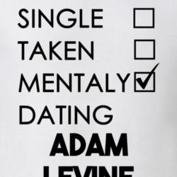 single taken mentally dating adam levine