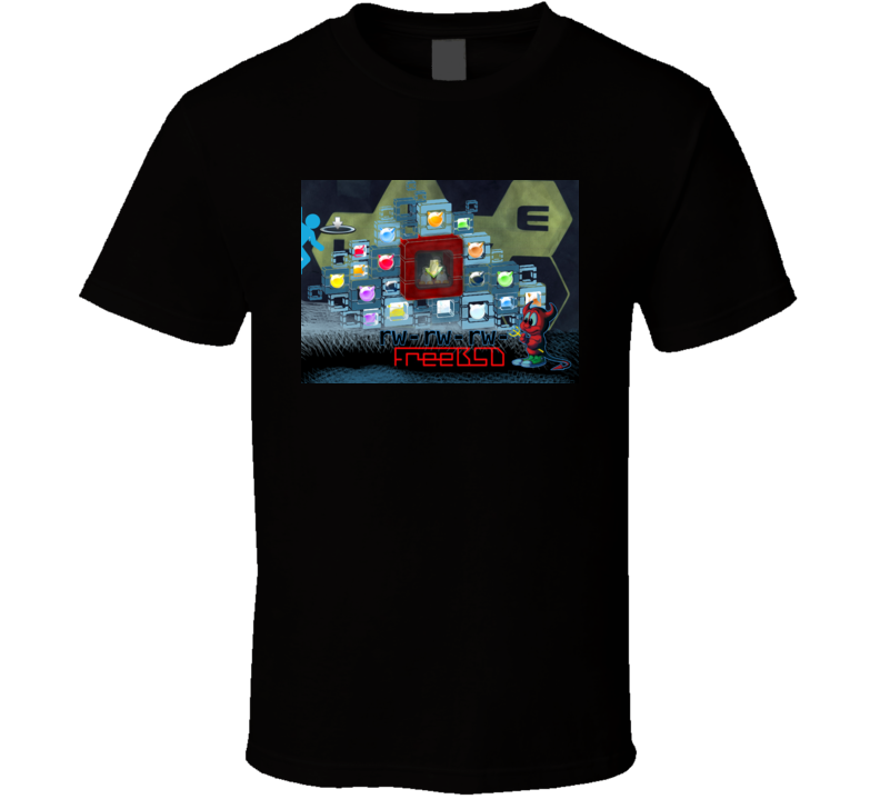 FreeBSD: Beastie vs Steam T Shirt