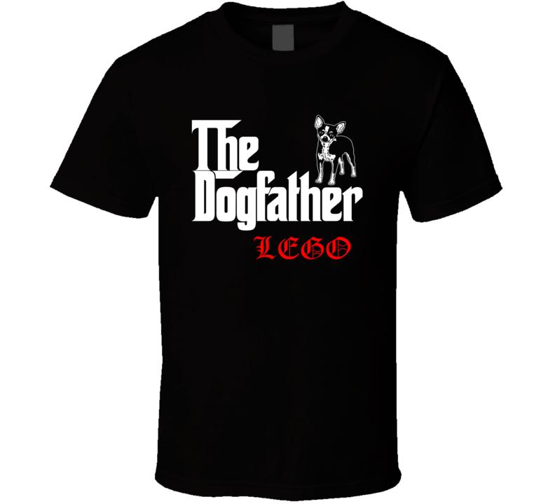 Lego Chihuahua Godfather Dogfather Parody Best Friend Dog Lover T Shirt