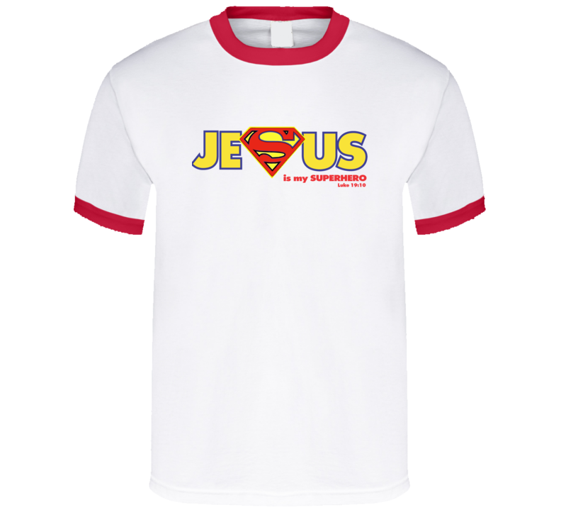 Jesus Is My Superhero For Light T Shirt