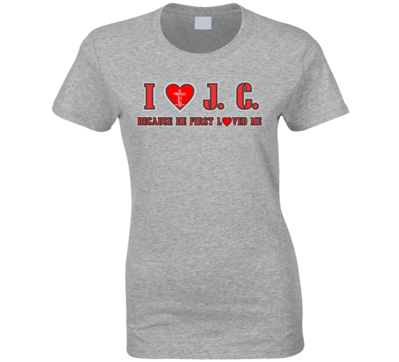 I Love Jesus Christ T Shirt