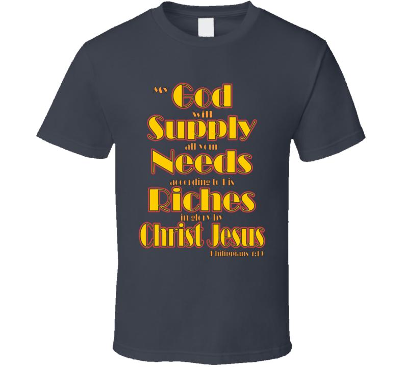 Philippians 4:19 T Shirt