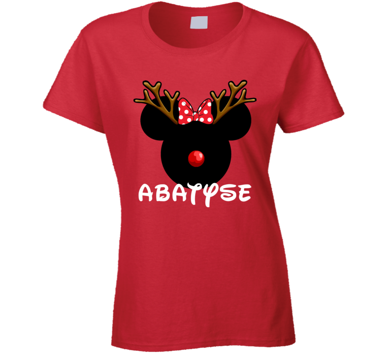 Abatyse Czech Mom Minnie Christmas Custom Gift T Shirt