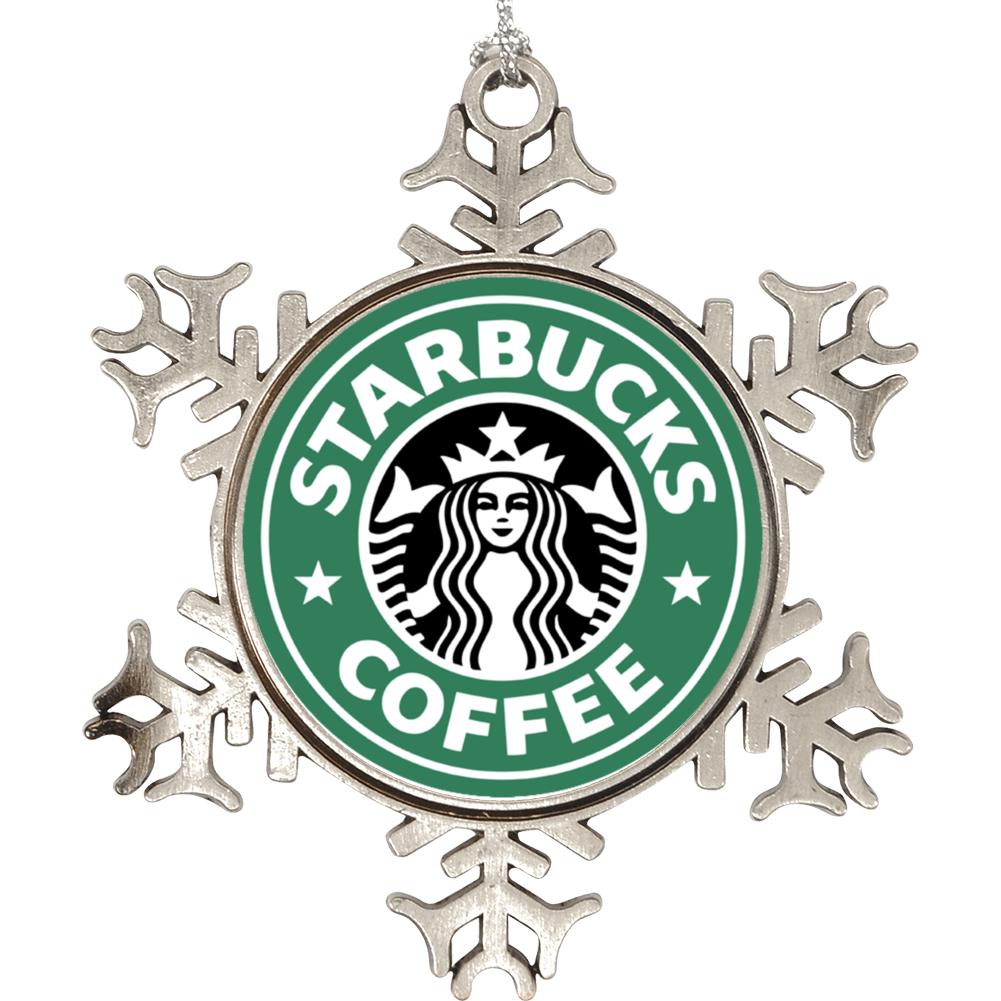 Starbucks Coffee Logo Holiday Ornament