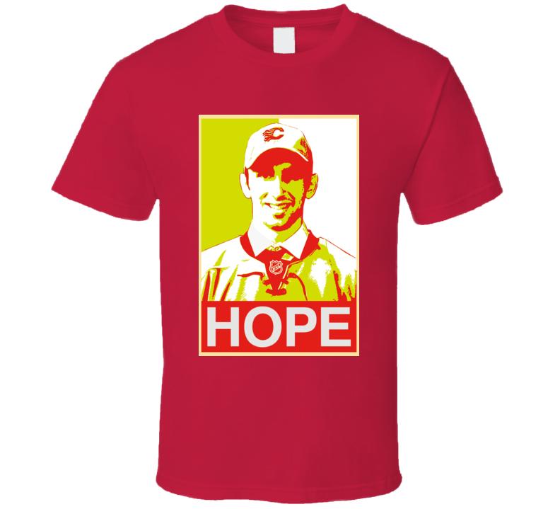 Emile Poirier Hope Calgary Hockey T Shirt