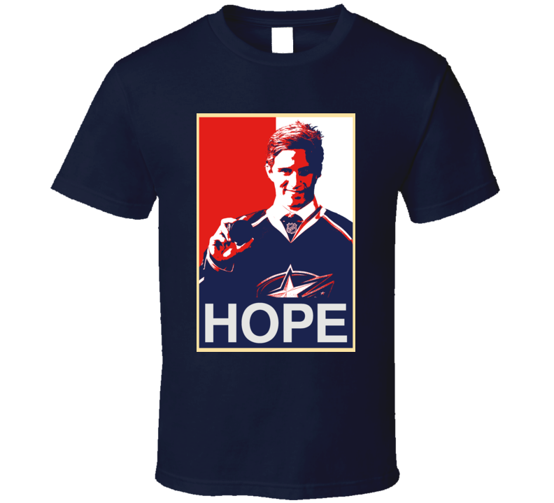 Hope Hockey Alexander Wennberg Columbus T Shirt