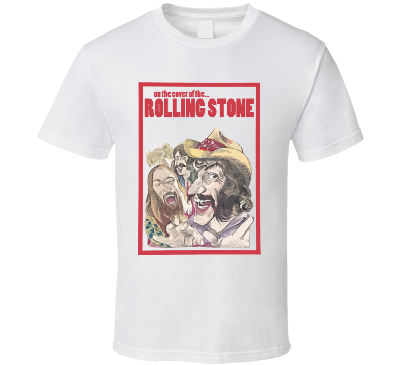 Dr Hook On The Cover Of The Rolling Stone Rock 70S 80S Musician T Shirt