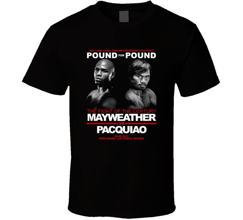 Floyd Mayweather vs. Manny Pacquiao Money Pacman Boxing T-shirt