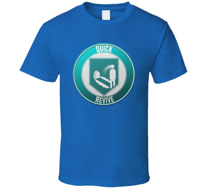 Call Of Duty Zombies Quick Revive Perk T Shirt