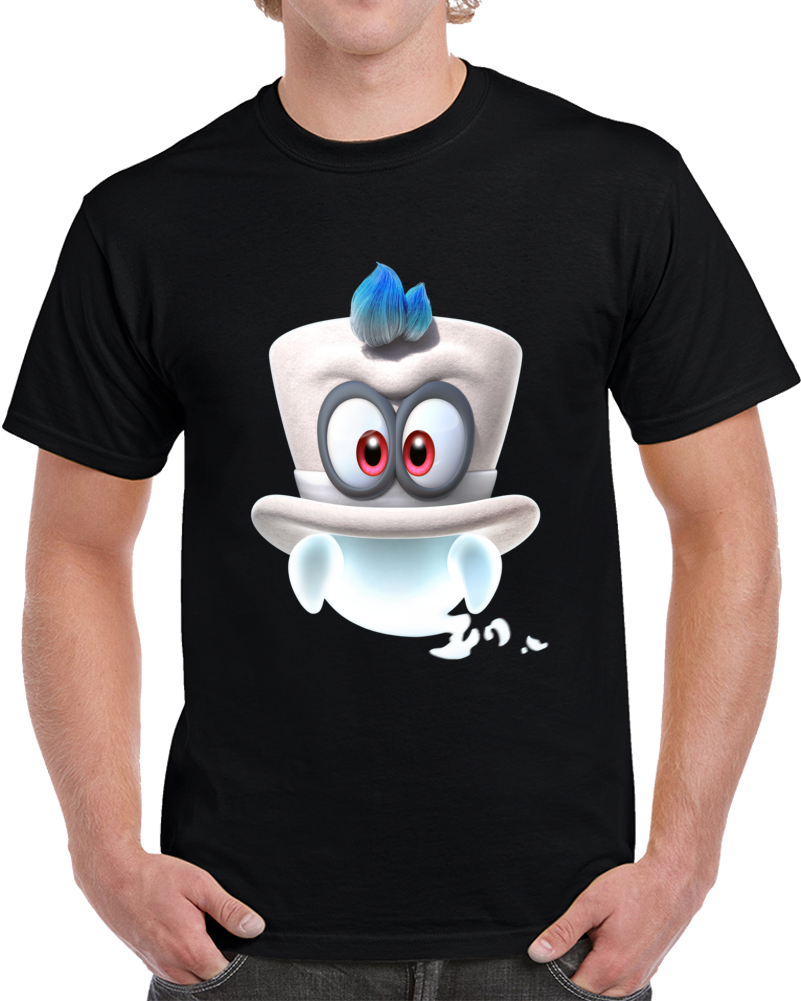 Super Mario Odyssey Ghost T Shirt