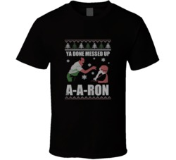 Ya Done Messed Up A-A-Ron Substitute Teacher Key & Peele Christmas Holiday Funny Trendy Classic T Shirt