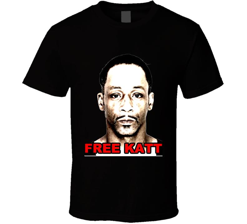 Free Katt Williams Comedian Funny Arrest Salt T Shirt