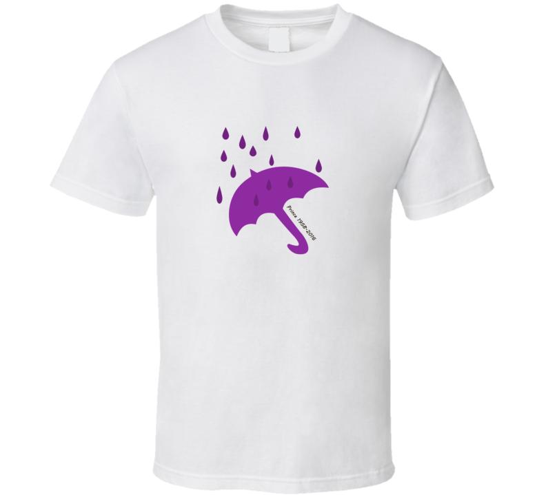 Prince 1958 2016 RIP Purple Rain T Shirt