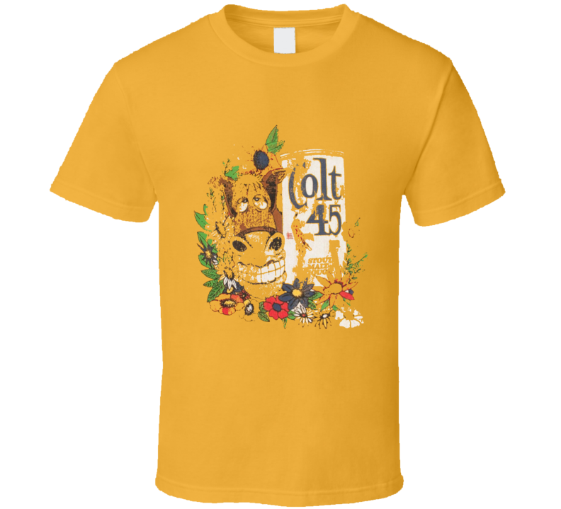 Colt 45 Fast Times At Ridgemont High Replica Movie T Shirt