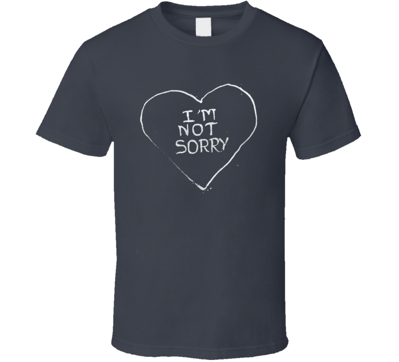 I'm Not Sorry Lena Headey Jimmy Kimmel Replica Game of Thrones T Shirt Trendy