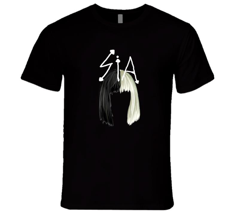 Sia Concert Wig New Classic T Shirt