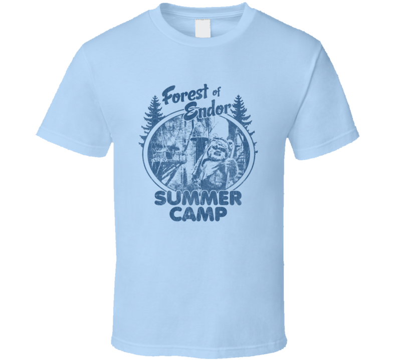 Endor Summer Camp Ewok Star Wars Trendy Classic T Shirt