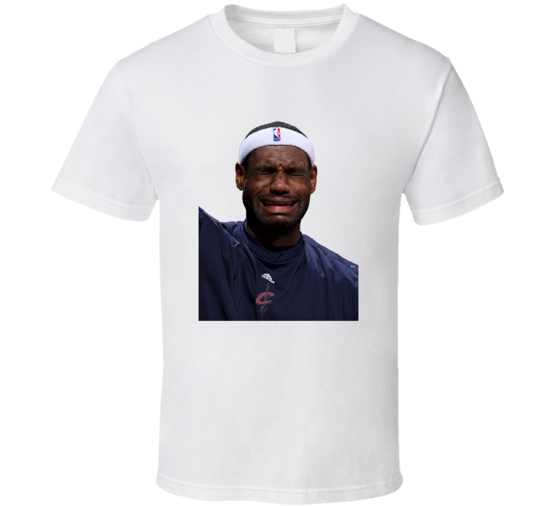 Lebron James Crying 2016 NBA Playoffs Miami Heat Cleveland Cavaliers Funny Trendy Classic T Shirt
