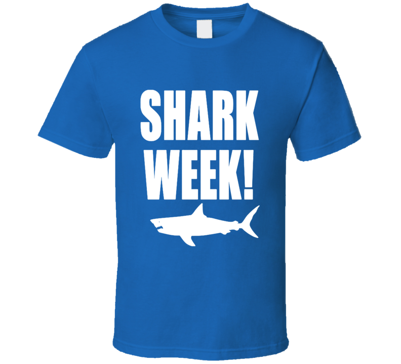 Shark Week Trendy Classic T Shirt  Discovery TV Documentary