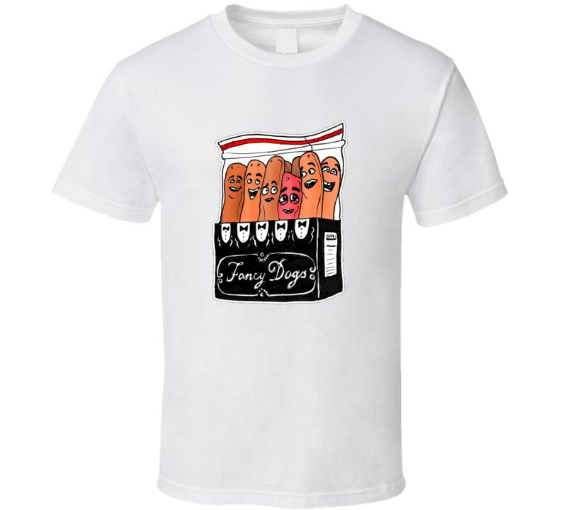 Sausage Party Fancy Dogs Funny Movie 2016 Seth Rogen Evan Goldberg Ariel Shaffir James Franco Funny Trendy Classic T Shirt
