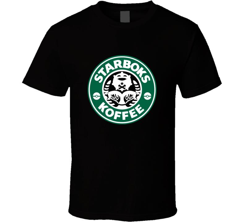 Starboks Koffee Pokemon Go Koffing Trendy Classic Shirt