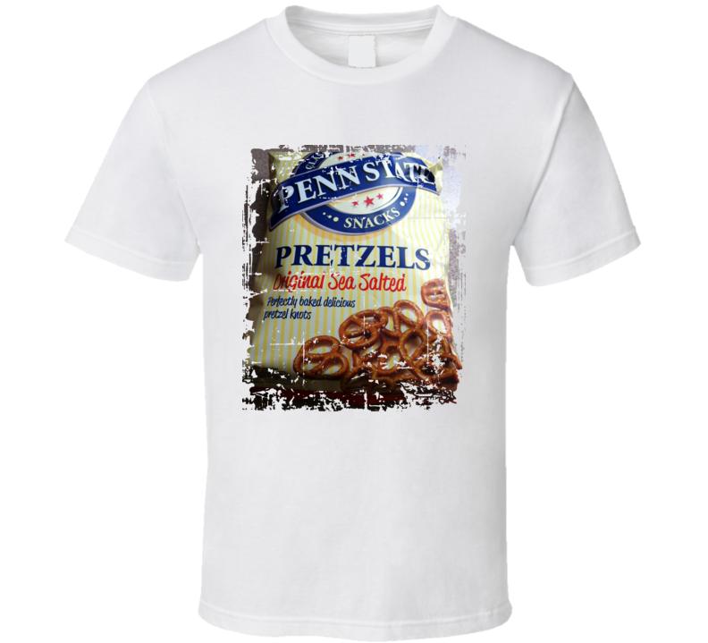 Penn State Pretzels Funny Football Fan T Shirt
