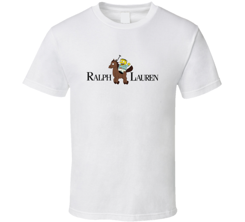Ralph Lauren Wiggum The Simpsons Inspired Ralphie TV Funny T Shirt