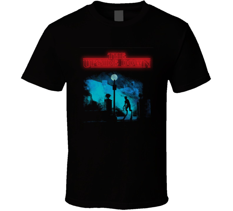 The Upside Down Stranger Things Inspired TV Show Eleven T Shirt