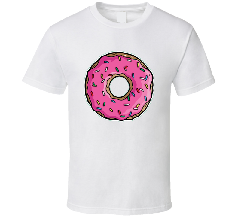 Mmm Donuts Homer Simpson Inspired Funny TV T Shirt