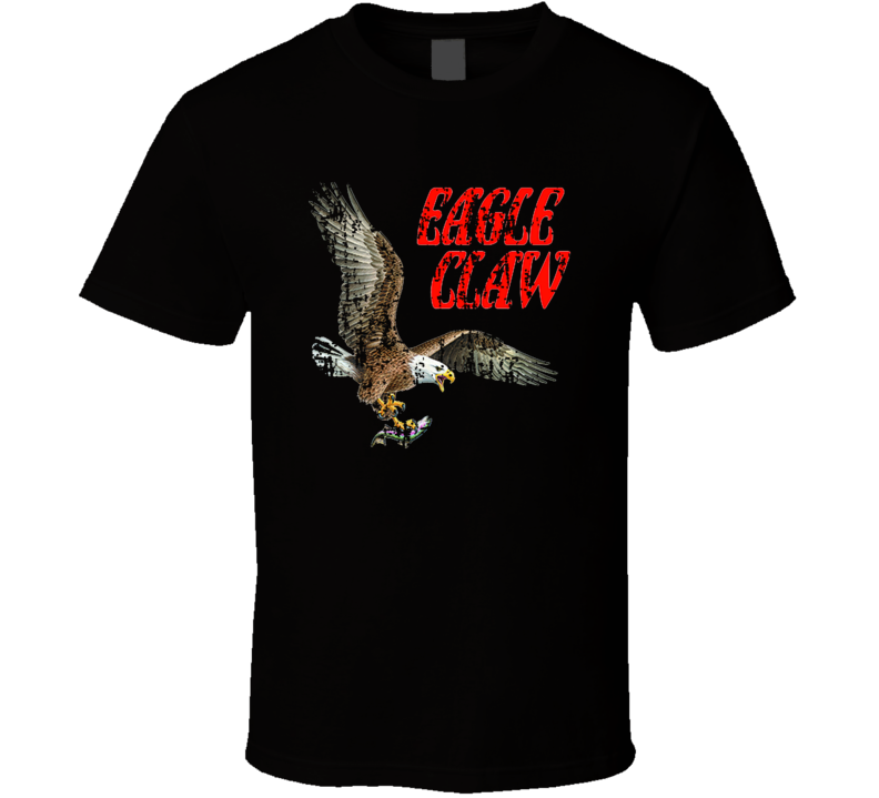 Eagle Claw Fishing Lover Products Cool Gift Worn Look T Shirt