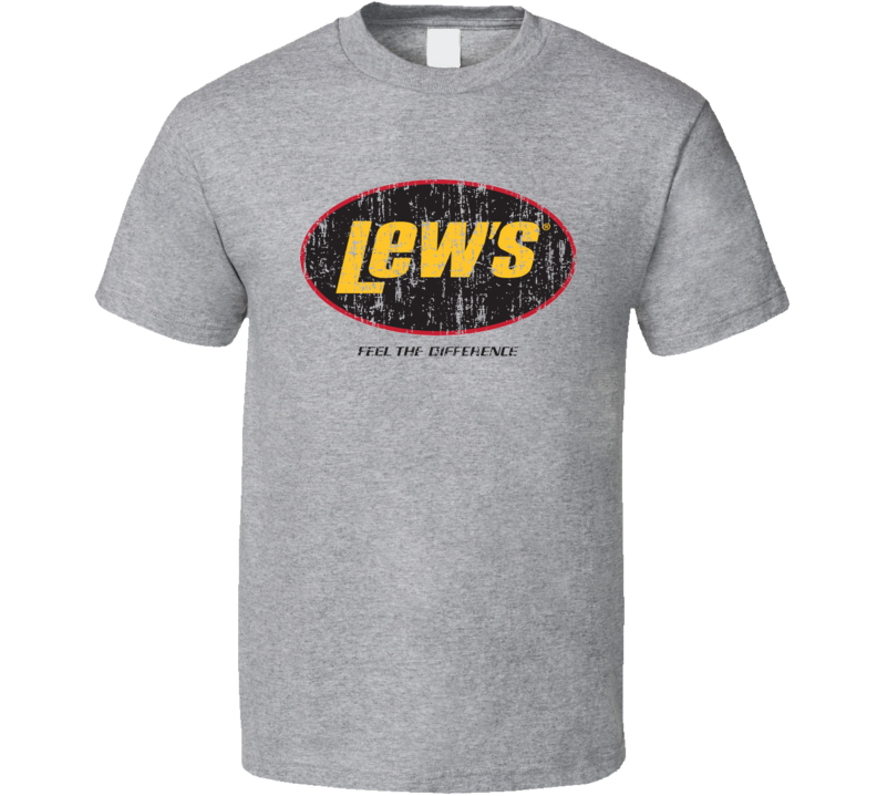 Lew's Fishing Lover Products Cool Gift Worn Look T Shirt