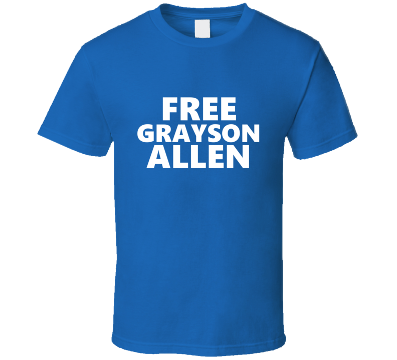 Free Grayson Allen Duke Basketball T Shirt