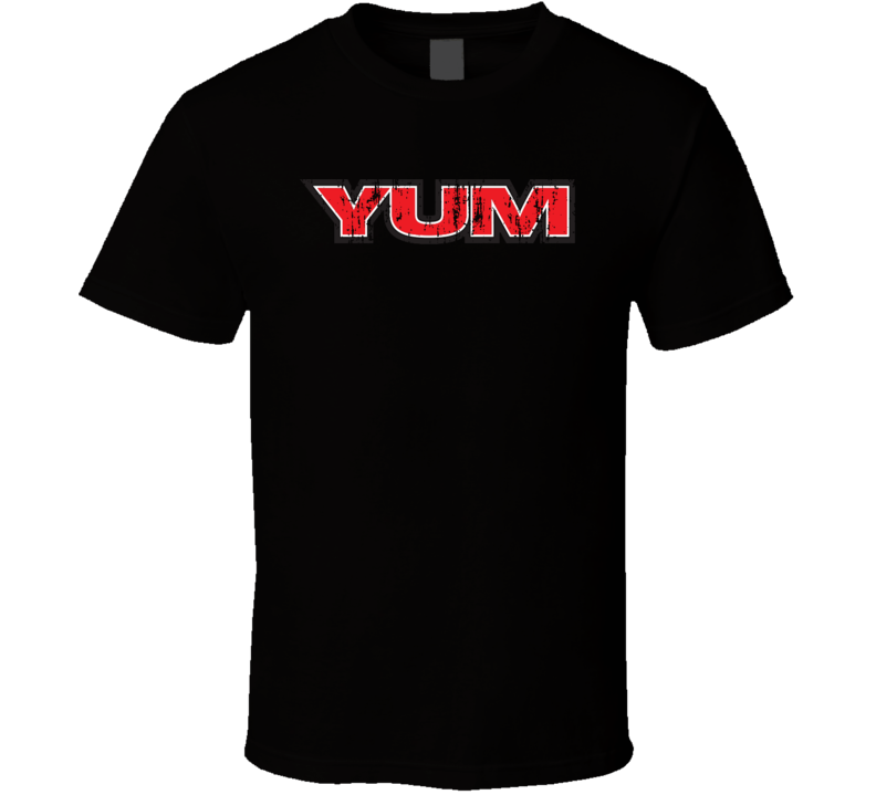 Yum Fishing Lover Products Cool Gift Worn Look T Shirt