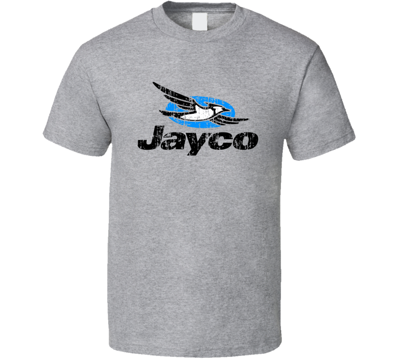 Jayco RV Camping Outdoors Lover Cool Worn Look T Shirt