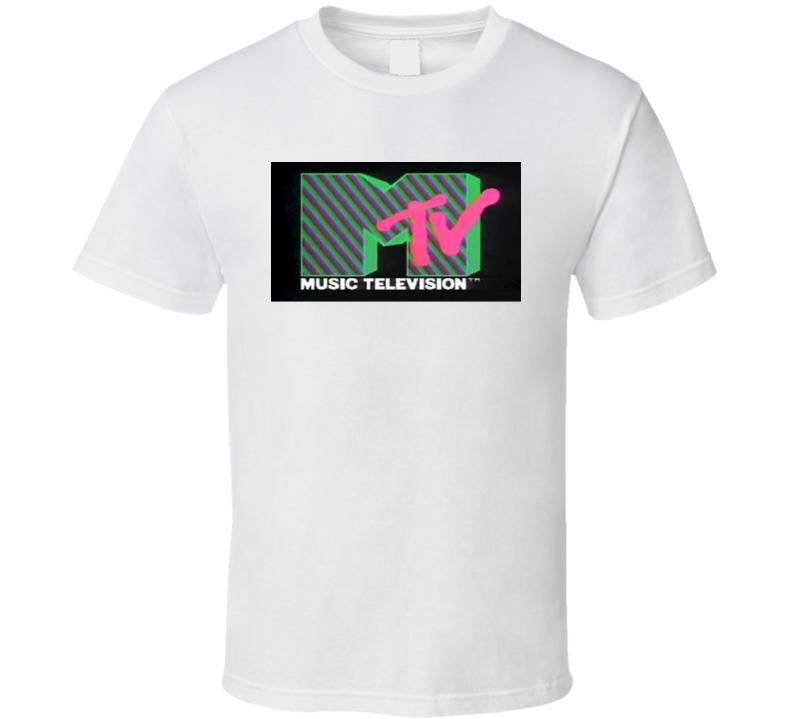 MTV Retro Vintage Music Channel Cool T Shirt