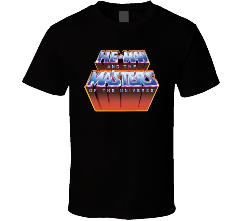 He Man And The Masters Retro Vintage Old School T Shirt