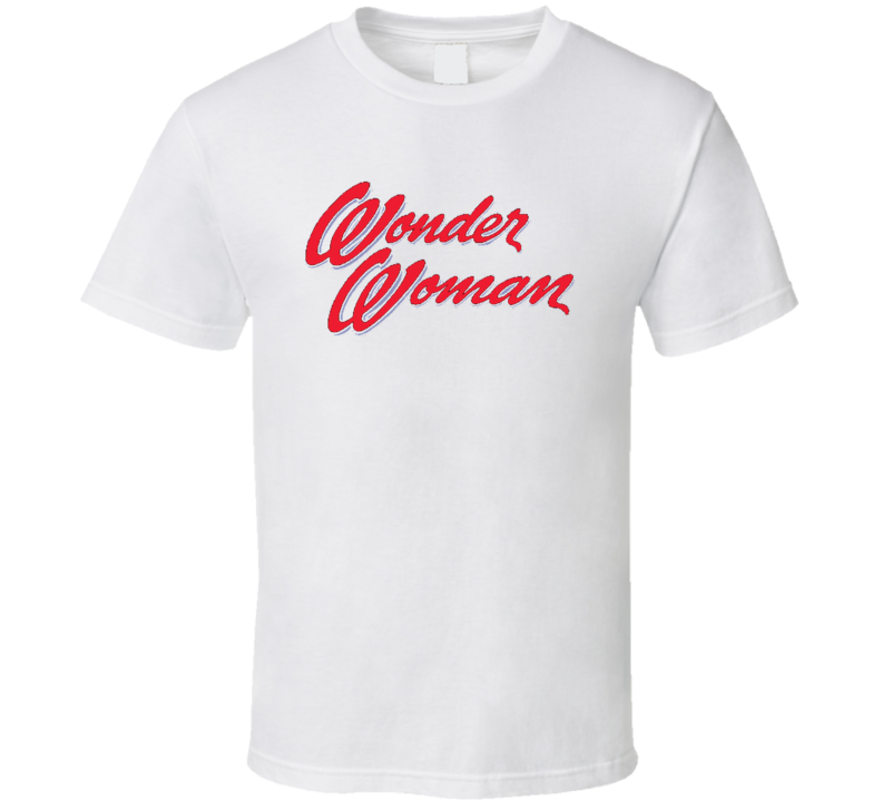 Wonder Woman Retro Vintage Old School Toy Cool T Shirt