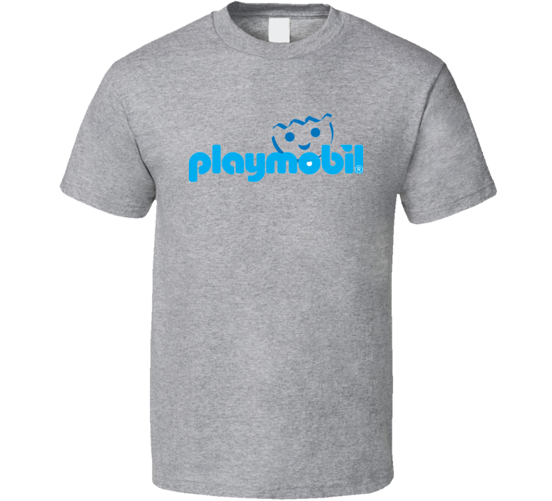 Playmobil Retro Vintage Old School Toy Cool T Shirt
