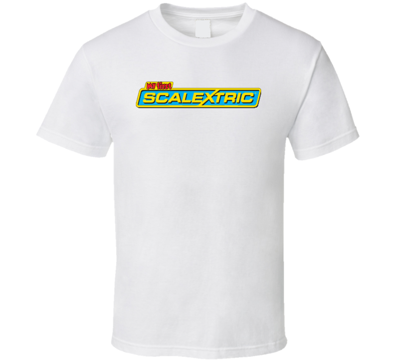 Scalextric Retro Vintage Old School Toy Cool T Shirt