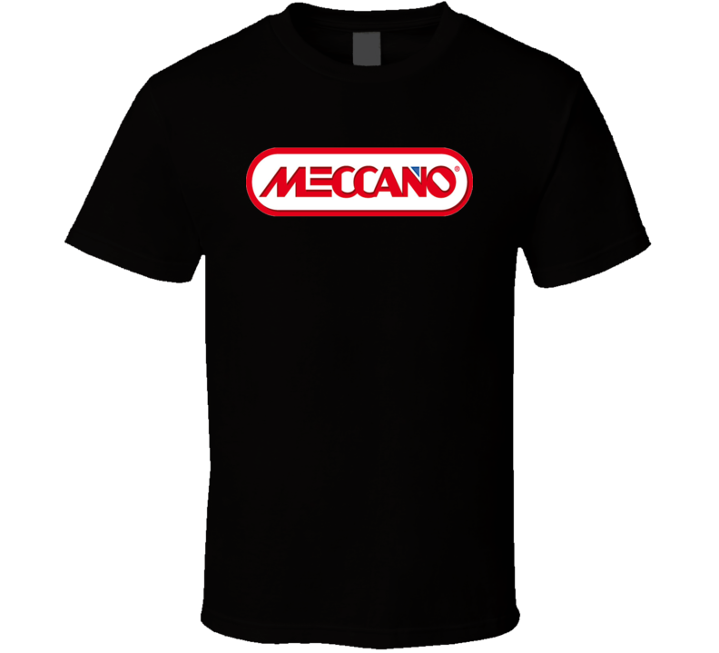 Meccano Retro Vintage Old School Toy Cool T Shirt