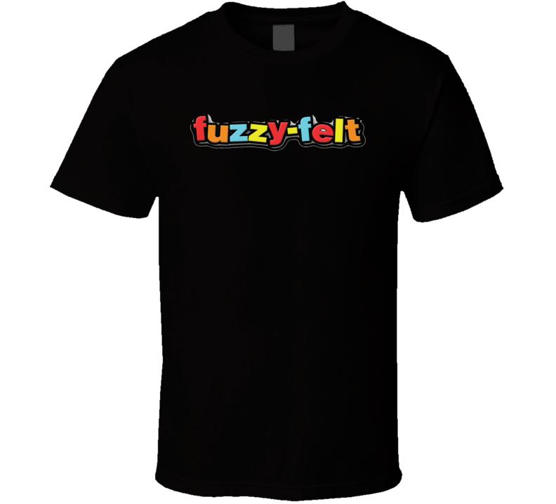 Fuzzy Felt Retro Vintage Old School Toy Cool T Shirt