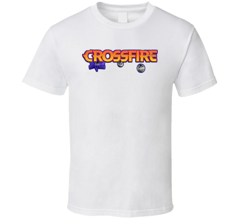 CrossFire Retro Vintage Old School Toy Cool T Shirt