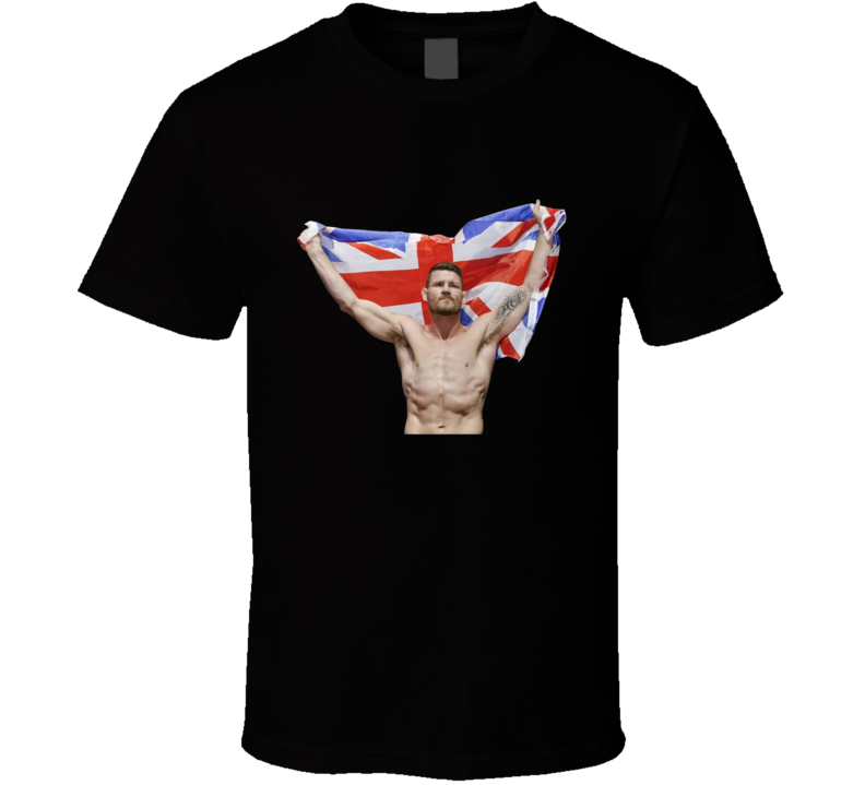 Michael Bisping I'd Beat GSP With a Hangover Comeback UFC Fan T Shirt