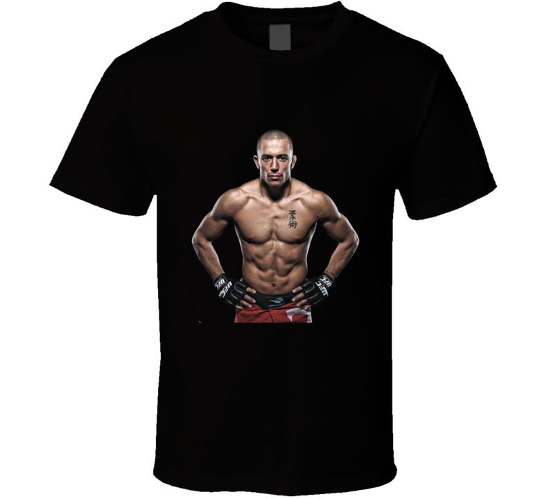 GSP Still Drunk UFC Return Comeback VS Bisping Fan T Shirt