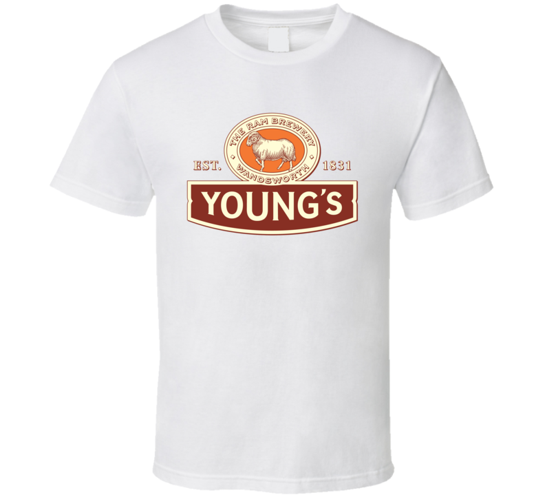 Young's Brewery Craft Beer Lover Father's Day Drinking Gift T Shirt