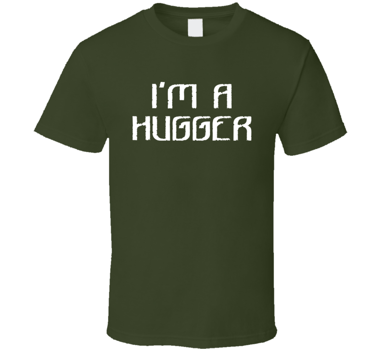 I'm A Hugger Funny Wrestling Fathers Day Gift T Shirt