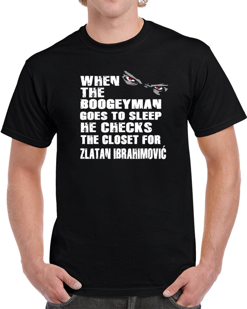 Zlatan Ibrahimovic Man United Funny Boogieman T Shirt