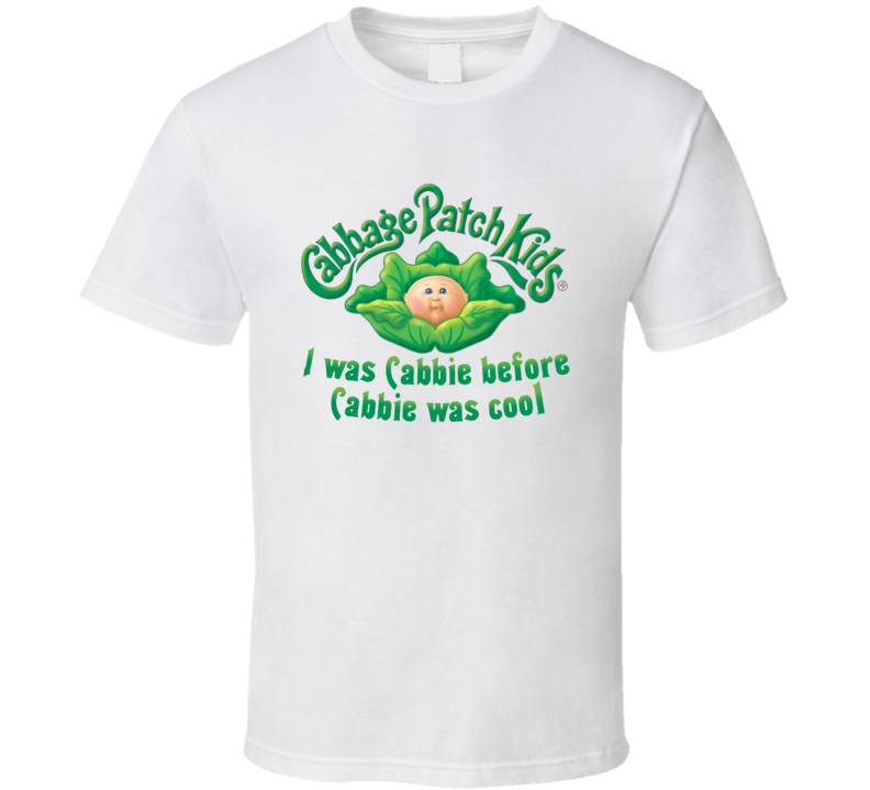Cabbage Patch Kids Retro Vintage Old School Toy Cool T Shirt