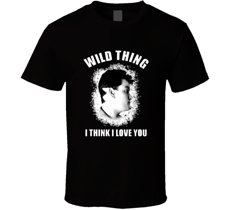 Major League Wild Thing Think I Love You Movie Replica T Shirt