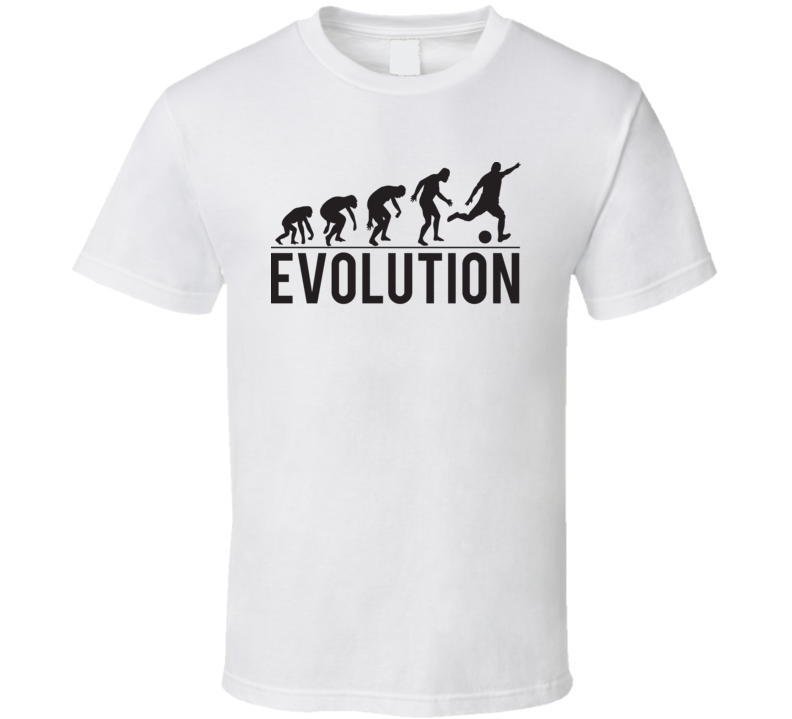 Evolution Of Soccer Funny Farther's Day Sports Fan Gift T Shirt